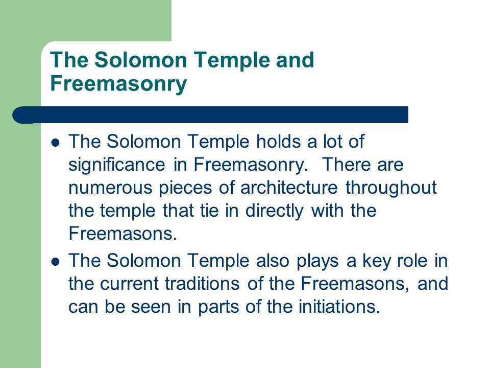 Hiram Hiram was a chief architect in the construction of the Solomon Temple.