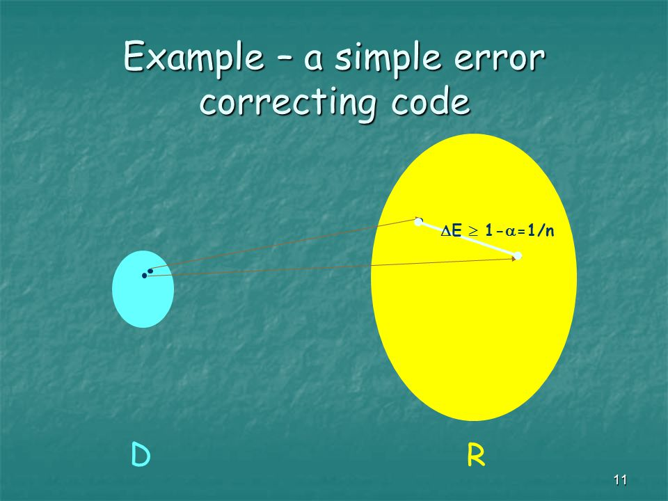 12 Reed-Solomon codes We shall now use polynomials over finite fields to build a better generic code (larger distance between words) Note: A polynomial whose degree-bound is r is of degree at most r-1 .