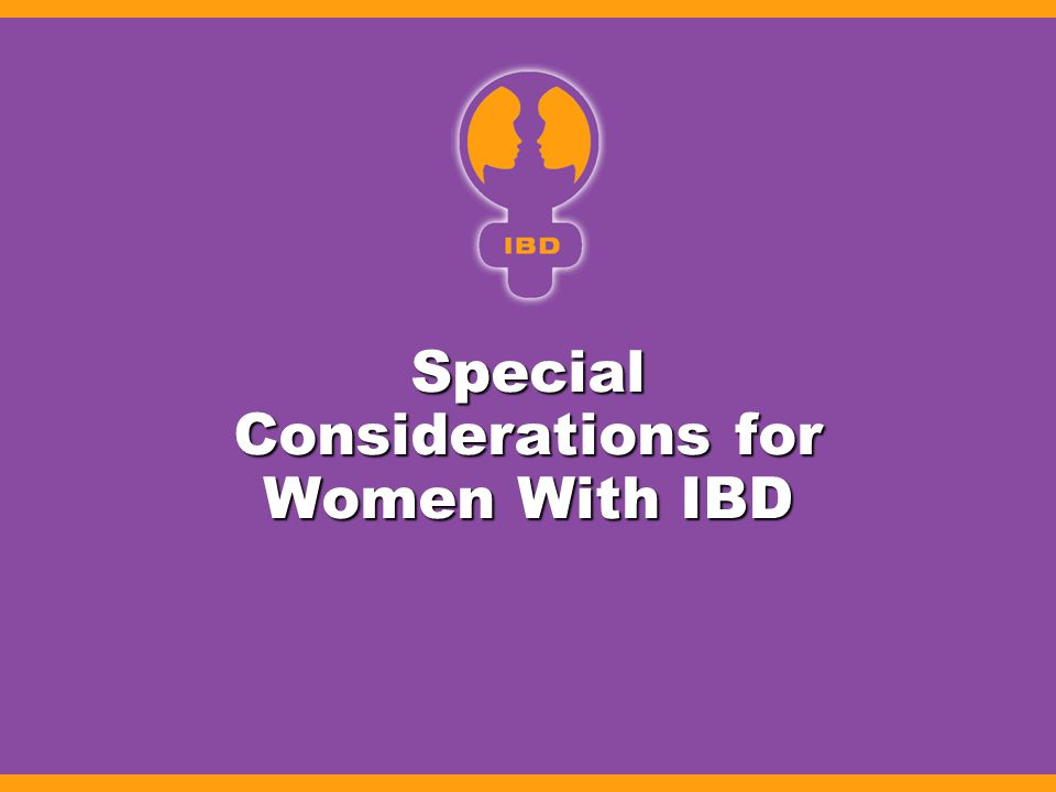 Special Considerations for Women With IBD