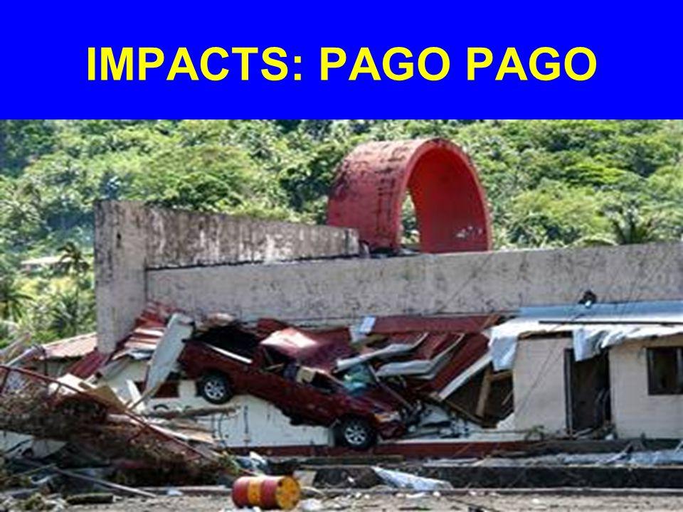 IMPACTS: PAGO PAGO