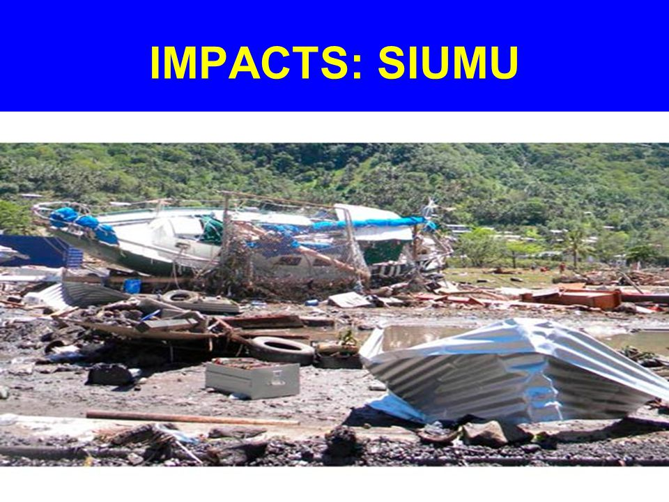 IMPACTS: SIUMU
