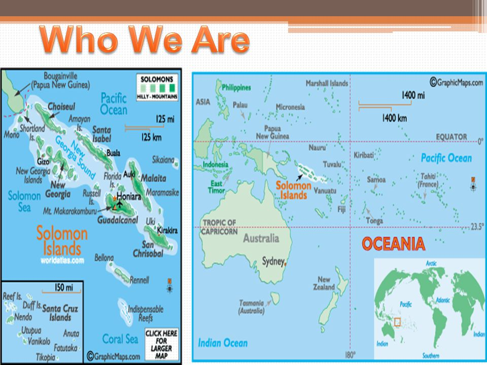 Language Situation in the Solomon Islands The number of individual languages listed for Solomon Islands is 75.