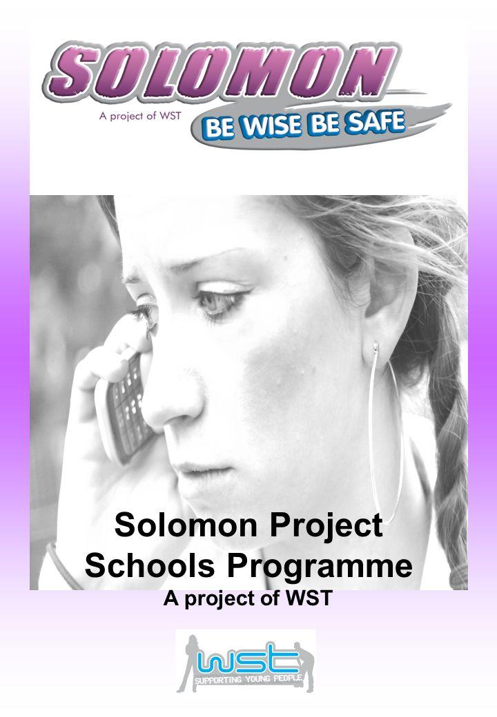 Solomon Project Schools Programme A project of WST