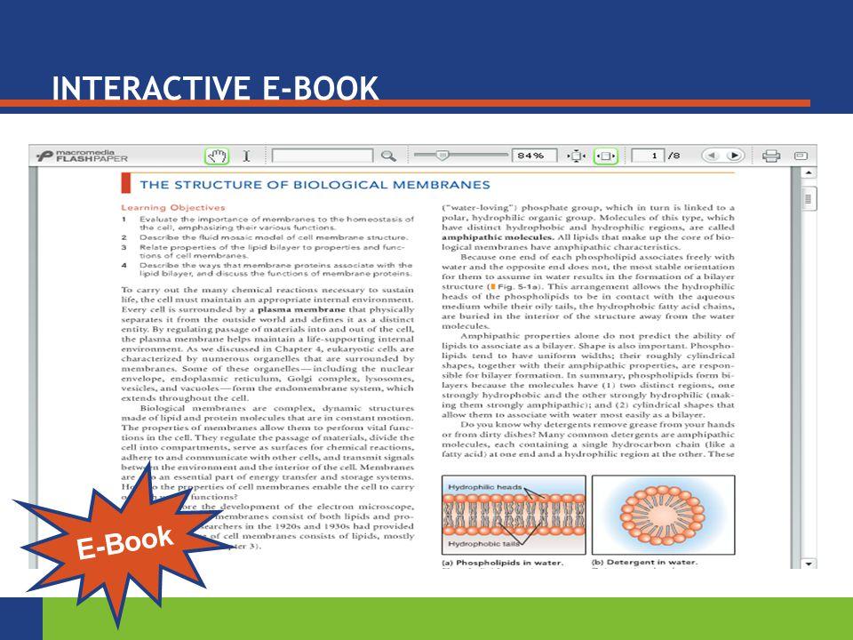 E-Book INTERACTIVE E-BOOK