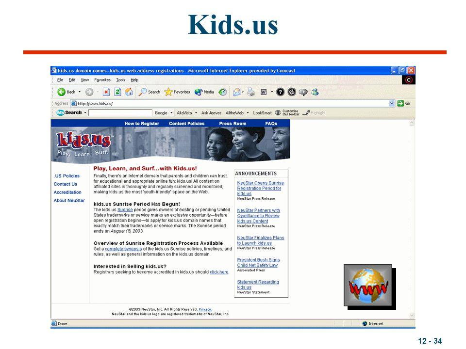 12 - 34 Kids.us