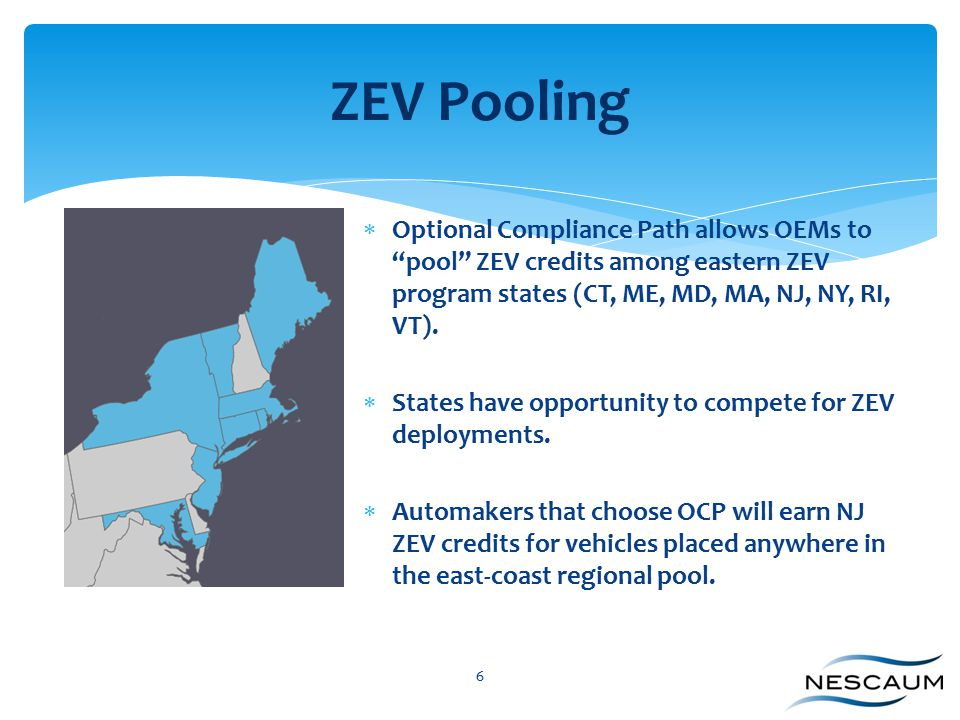 What can New Jersey do to accelerate the ZEV market.