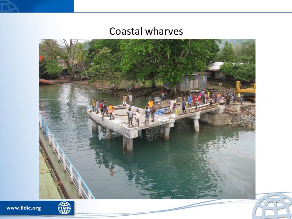 Coastal wharves