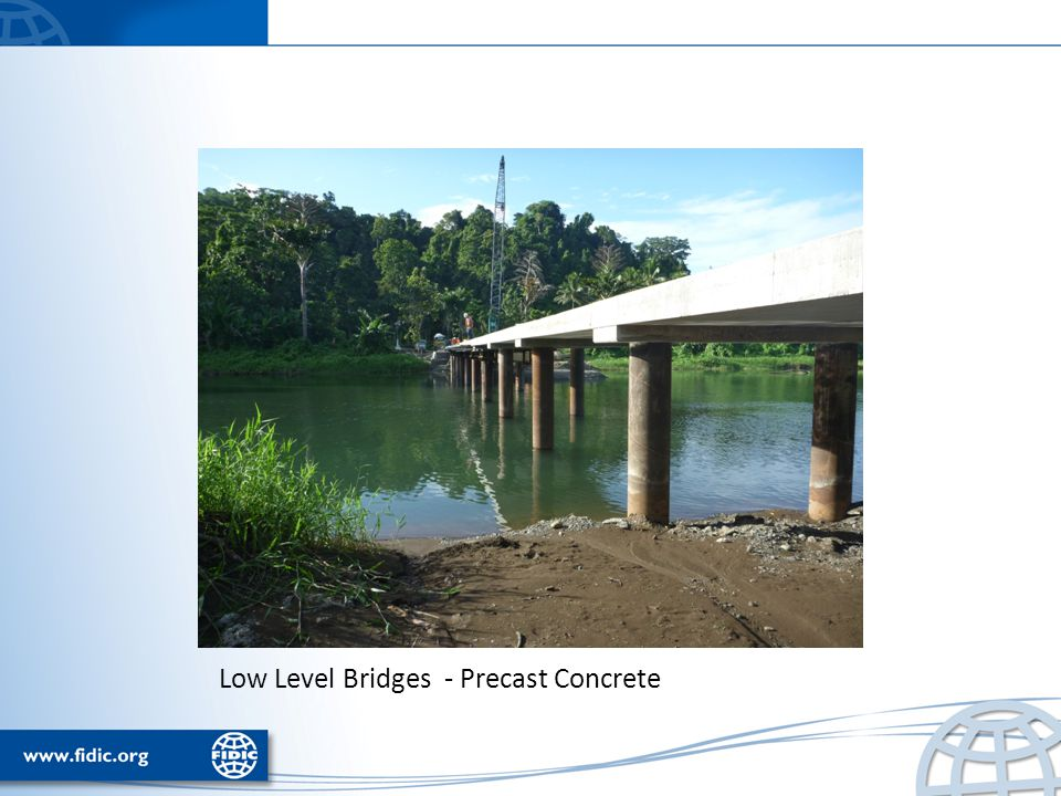 Low Level Bridges - Precast Concrete