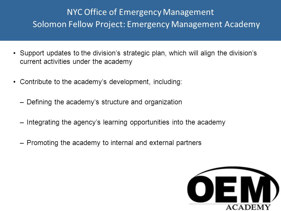 Agency Mission Established in 1973 through Older American Act created of 1965.
