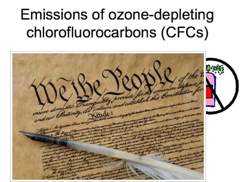 US, Canada, Sweden and Norway ban CFCs in sprays (only)