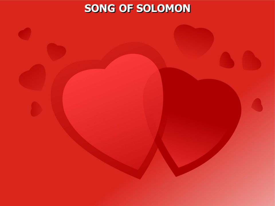 The Hebrew name for the book is The Song of Songs, meaning that it is the best of all songs, presumably the best of out of the 1005 songs the Solomon wrote (1 Kgs.