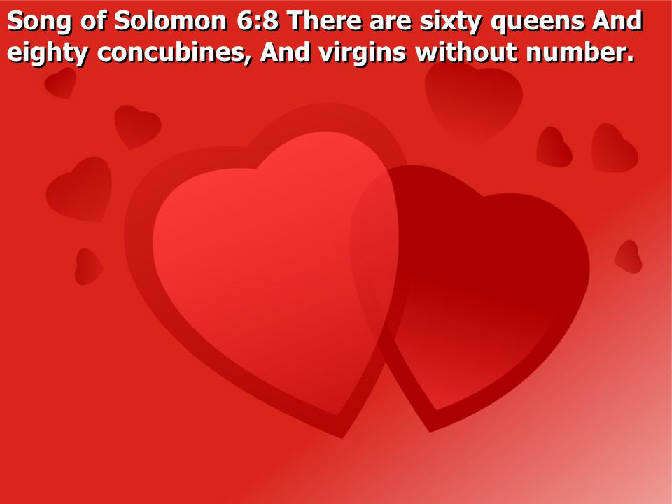 Song of Solomon 4:1 Behold, you are fair, my love.