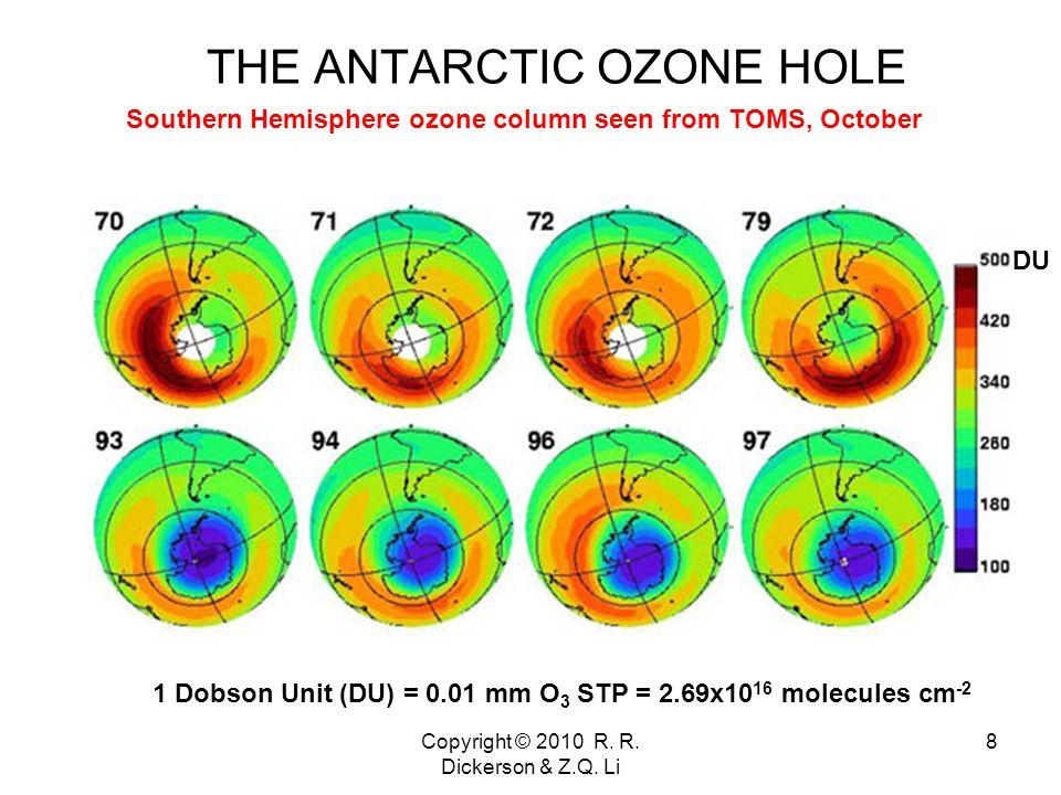 Copyright © 2010 R. R. Dickerson & Z.Q. Li 9 Polar Stratospheric Clouds (PSCs)