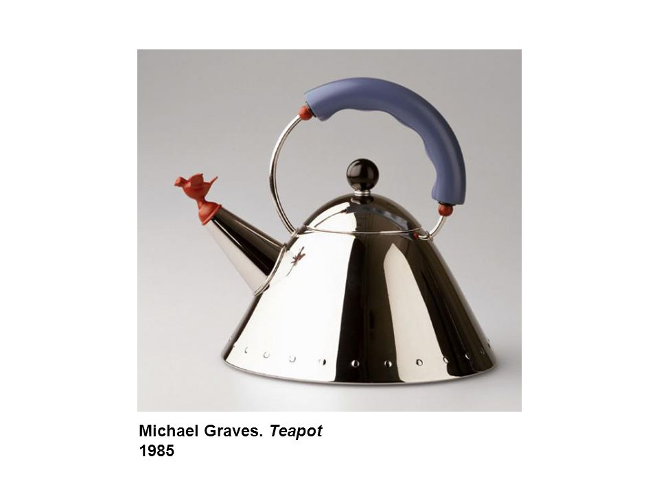 Michael Graves. Teapot 1985