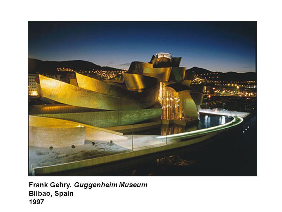 Frank Gehry. Guggenheim Museum Bilbao, Spain 1997
