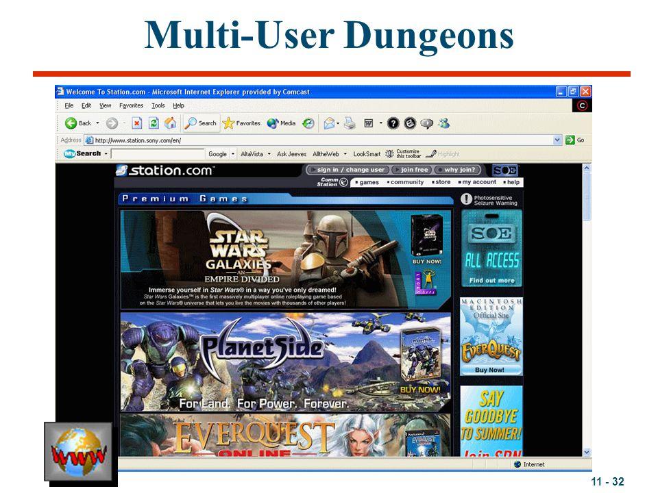 11 - 32 Multi-User Dungeons