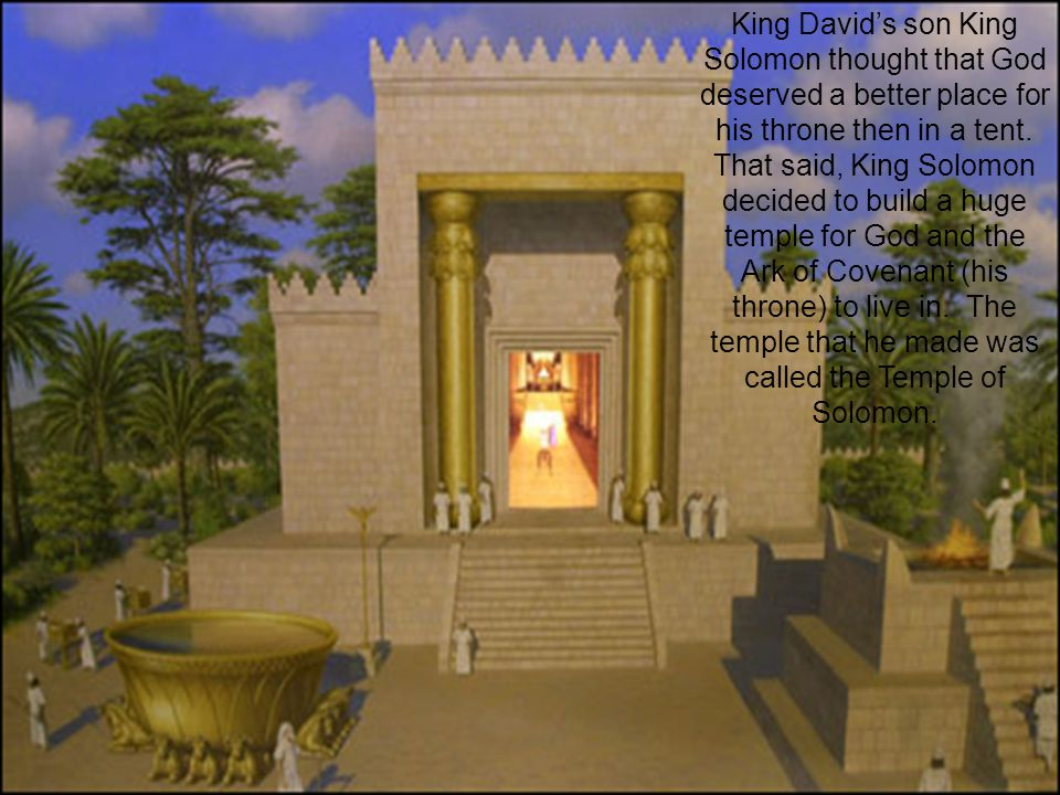 The United Kingdom (1000-922 B.C.) The first king was Saul, who started off well but then was rejected by God.