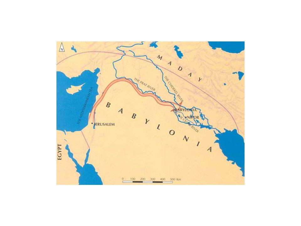Babylonian Exile 587/586 B.C. The Judahites eventually broke all of God's commandments.