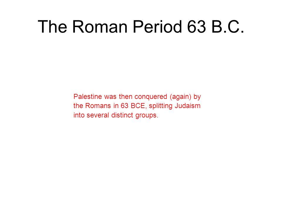 Maccabean Revolt 167 B.C.