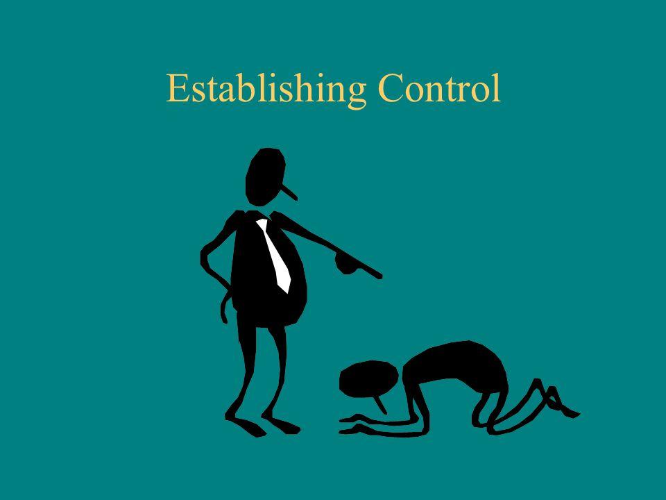 Establishing Control