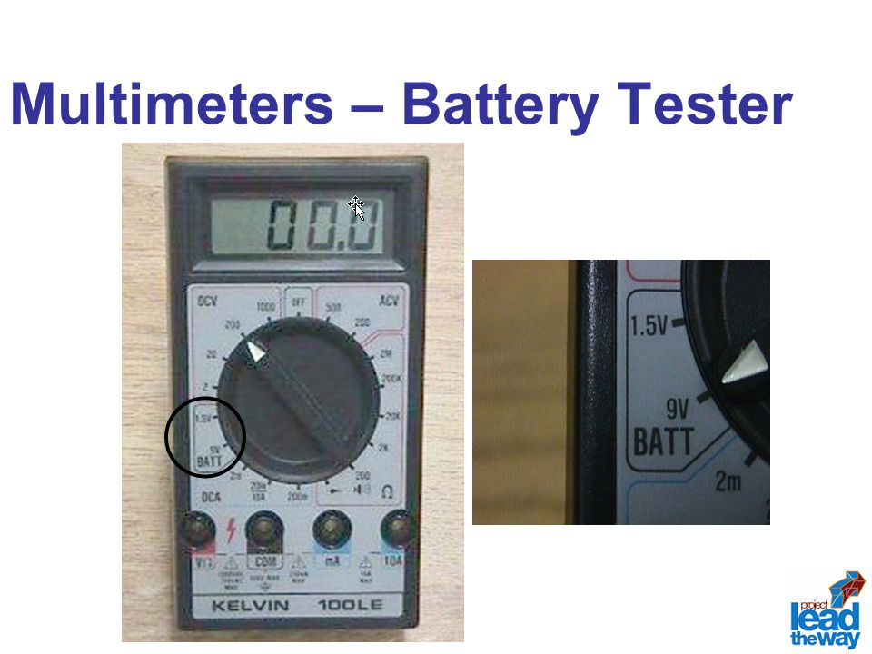 Multimeters – Battery Tester