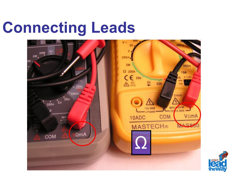 Connecting Leads Ω