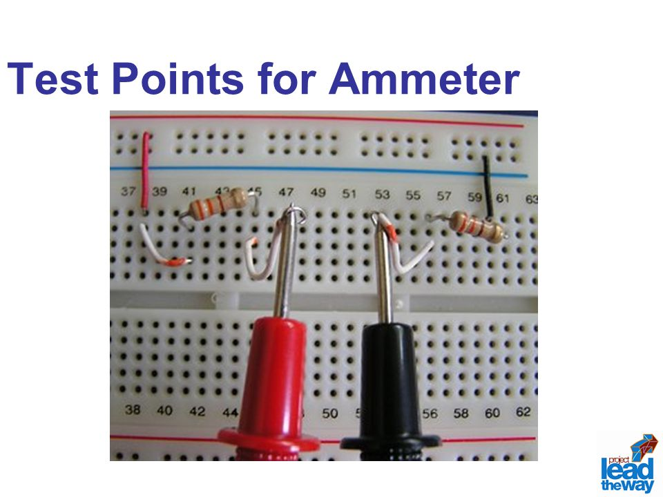 Test Points for Ammeter