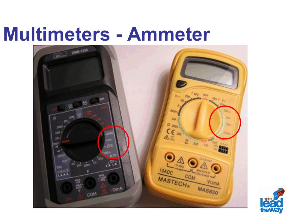 Multimeters - Ammeter