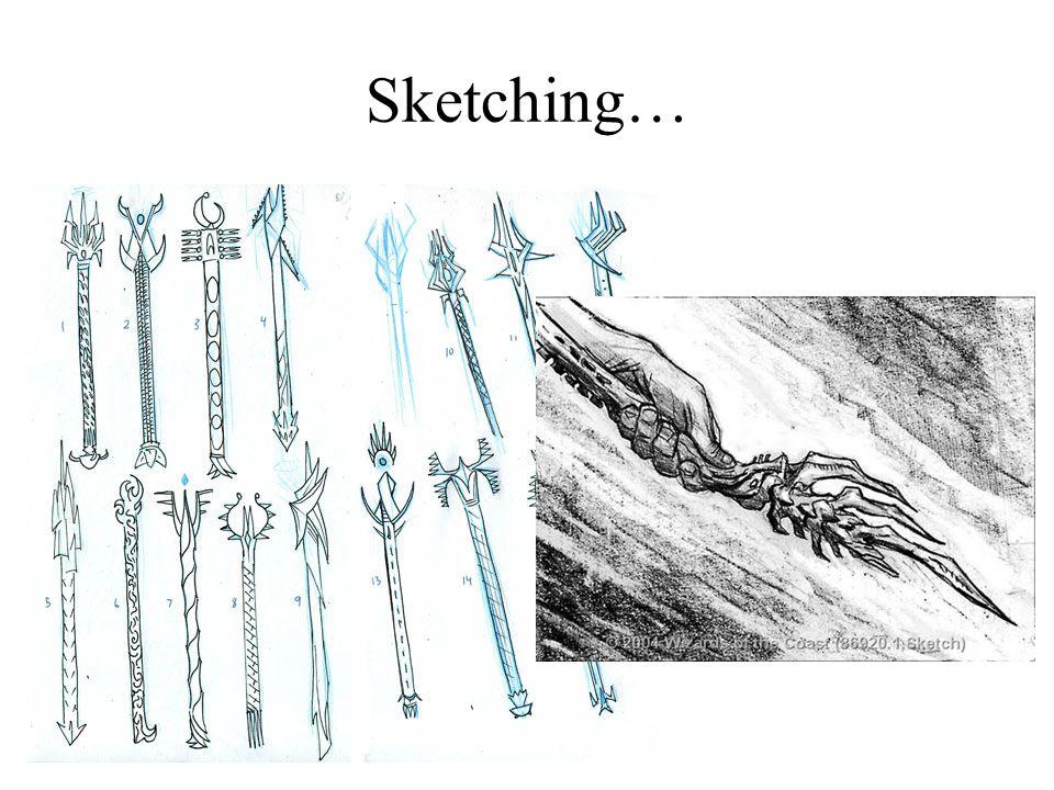 Sketching…