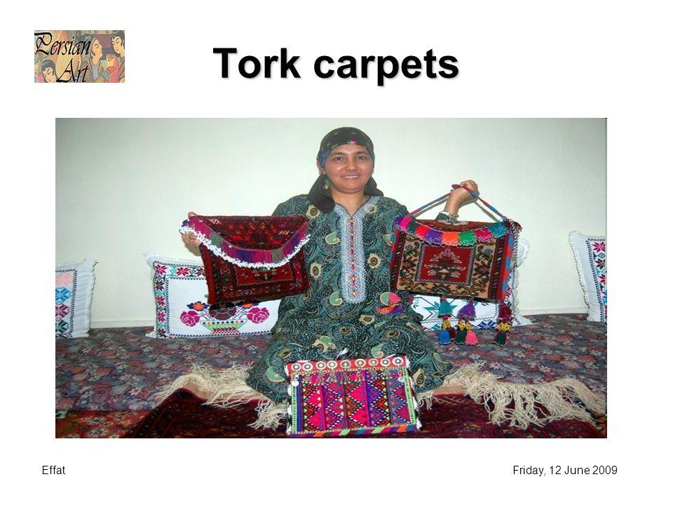 EffatFriday, 12 June 2009 Tork carpets