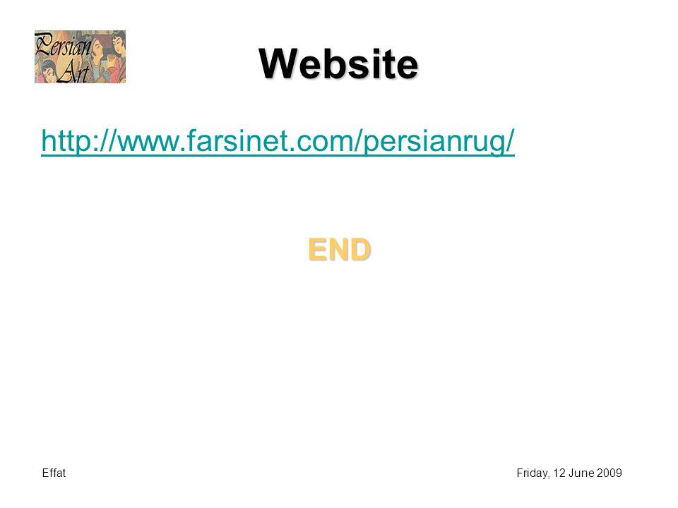 Website http://www.farsinet.com/persianrug/END