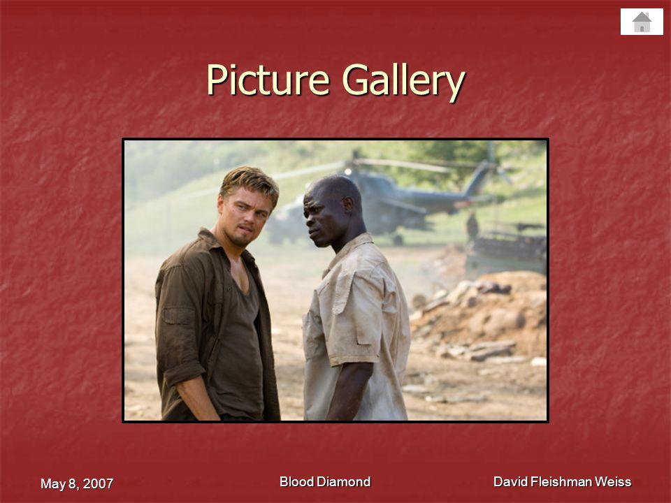 Blood Diamond May 8, 2007 David Fleishman Weiss Movie Trailer
