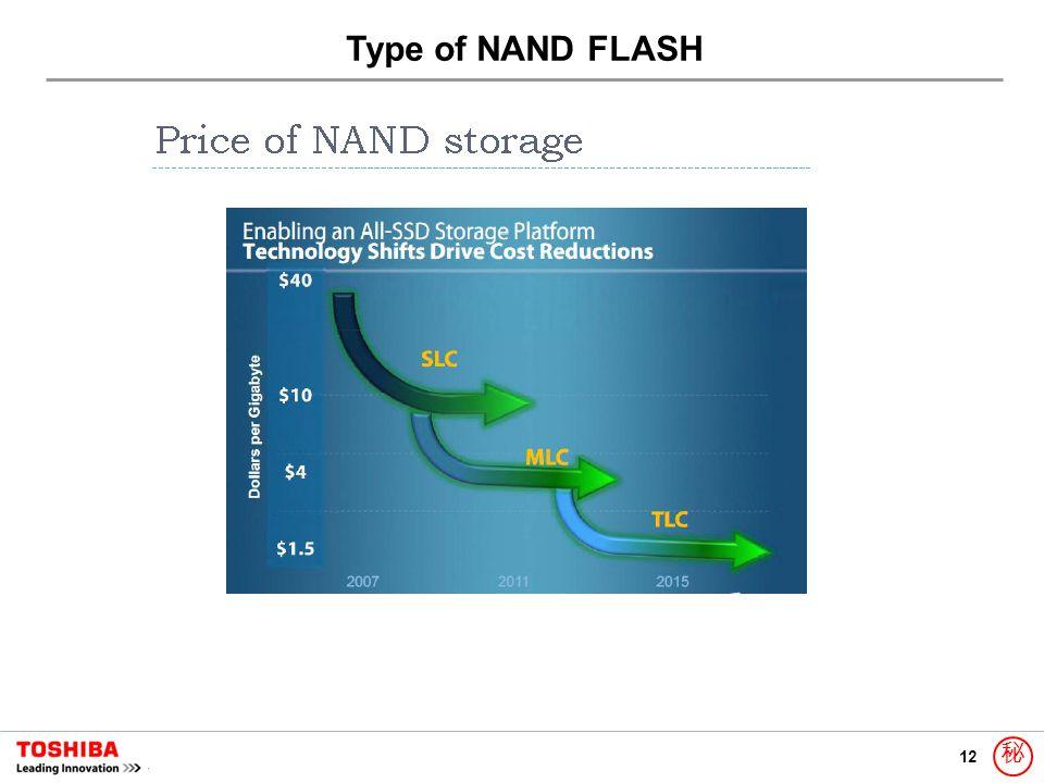 12 秘 Type of NAND FLASH