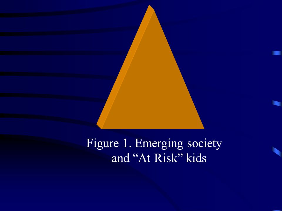 """Figure 1. Emerging society and """"At Risk"""" kids"""