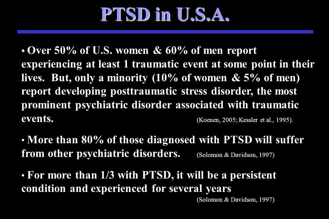 Trauma in U.S.A.