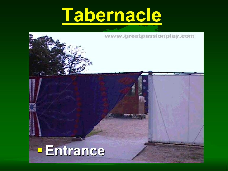 Tabernacle  Outer Linen Wall of Courtyard
