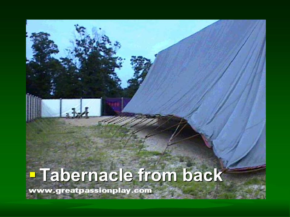  Tabernacle from back