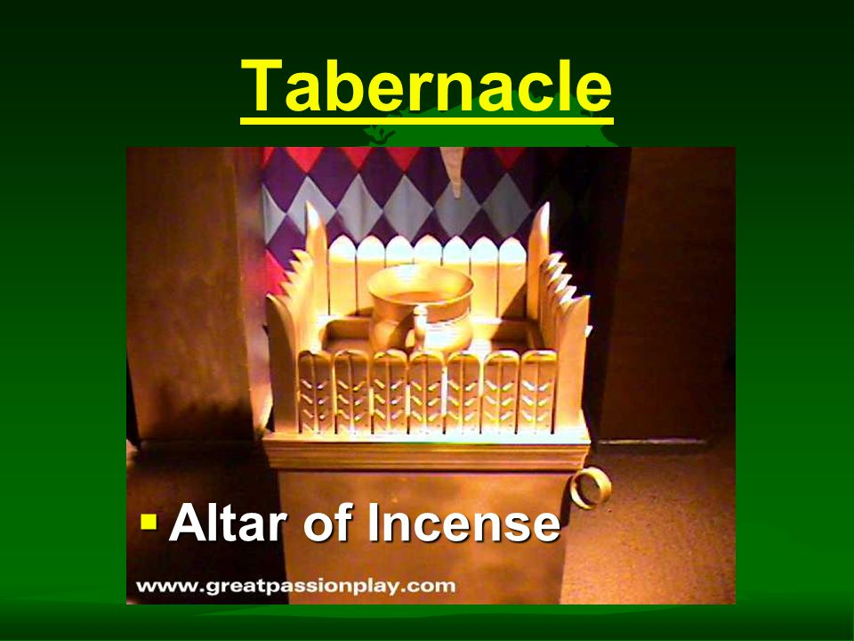 Tabernacle  Table of Shewbread