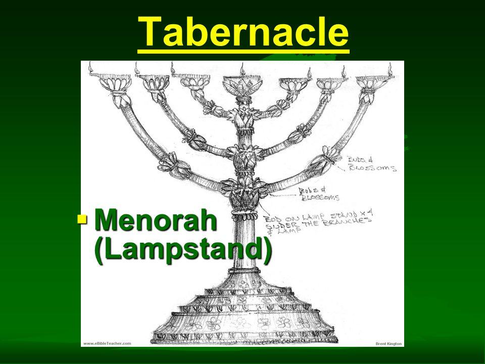 Tabernacle  Menorah (Lampstand)