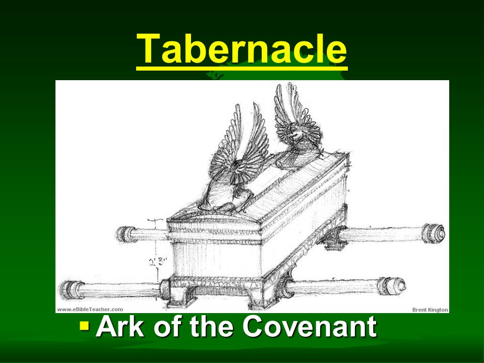 Tabernacle  Ark of the Covenant
