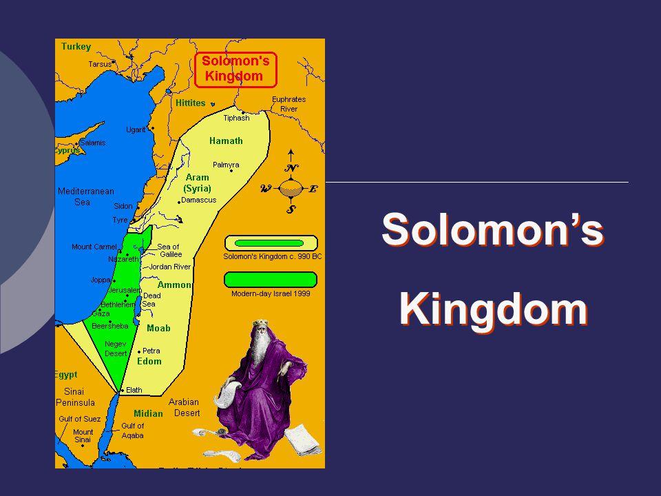 Solomon's Kingdom Solomon's Kingdom