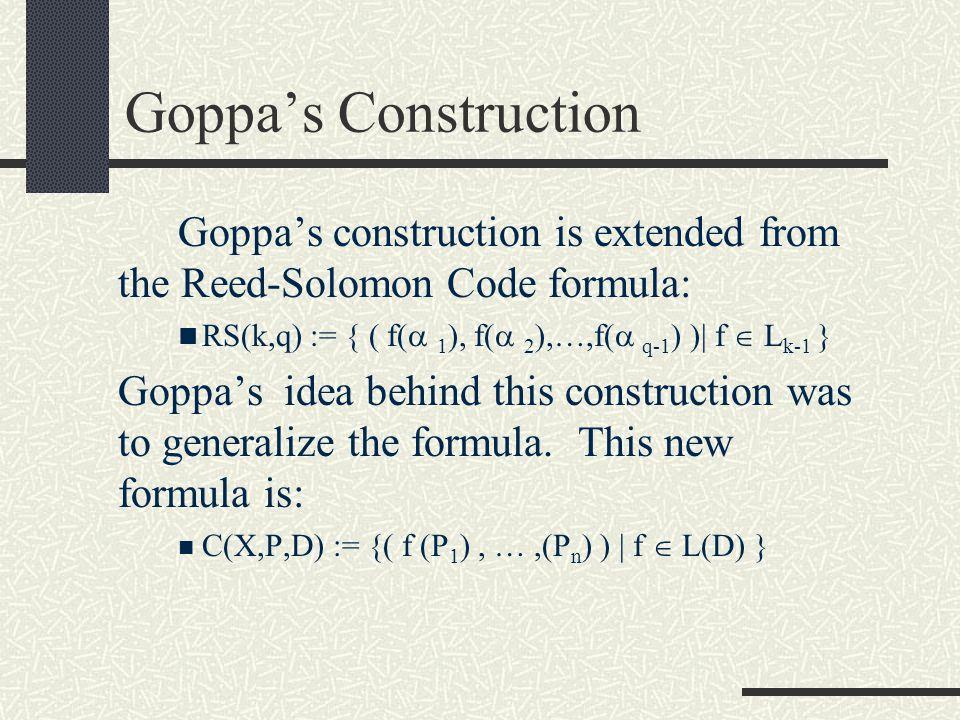 Algebraic Geometric Reed- Solomon Codes