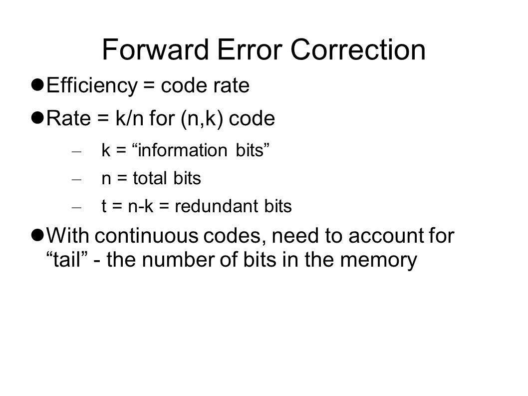 Block Codes Copy codes LRC Hamming codes BCH Reed-Solomon LDPC