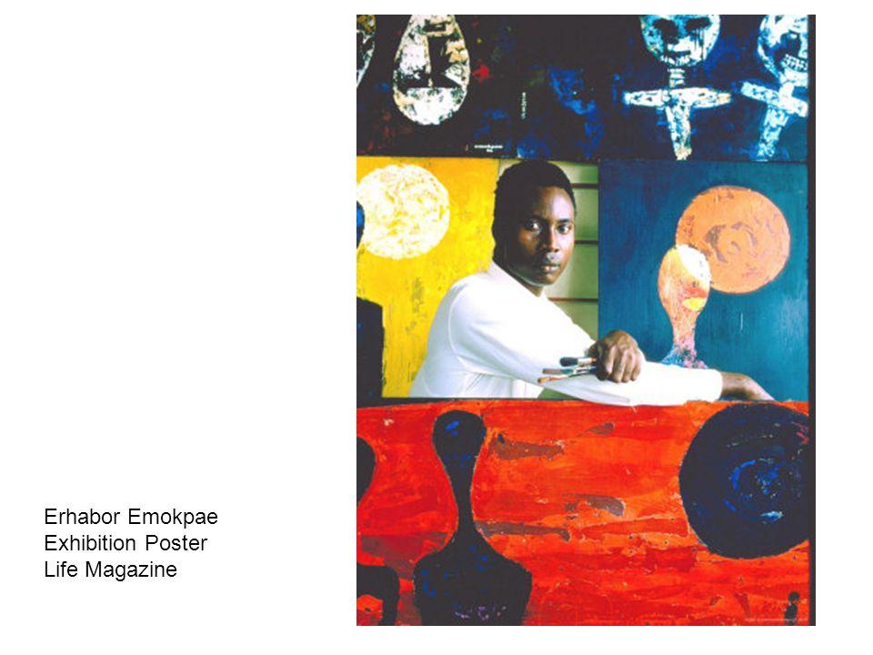 Erhabor Emokpae Exhibition Poster Life Magazine