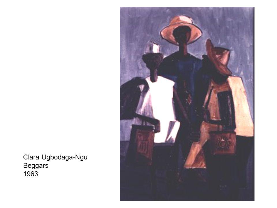 Clara Ugbodaga-Ngu Beggars 1963