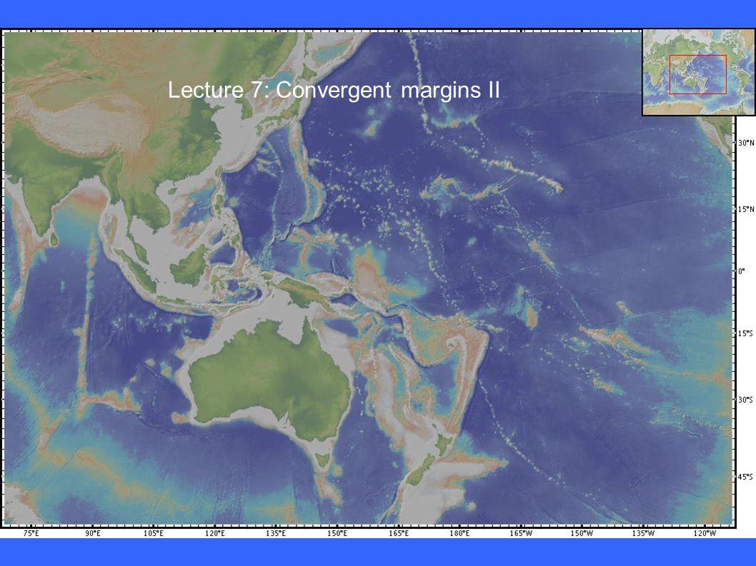Lecture 7: Convergent margins II