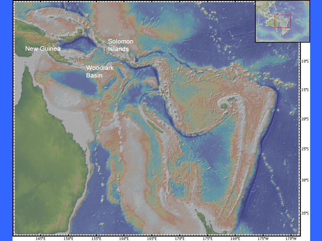 Woodlark Basin New Guinea Solomon Islands