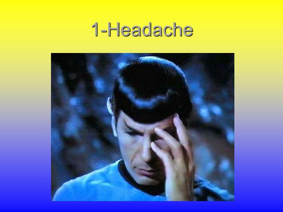 Topics 1-Headache 2-Parkinson 3-Multiple Sclerosis 4-Dementia 5-Epilepsy (from Solomon S, Lipton RB.