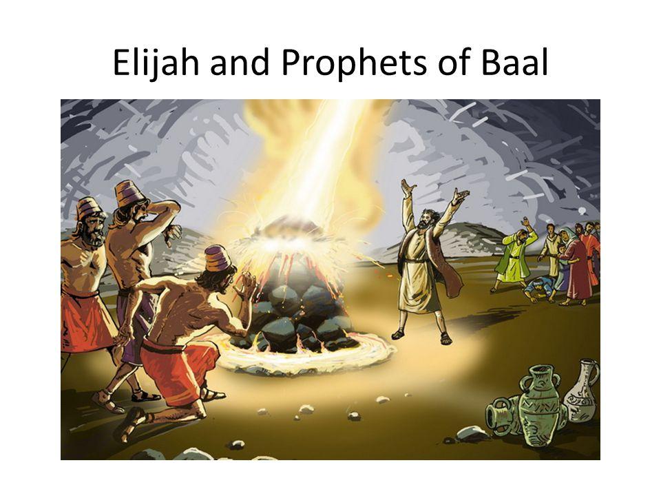 Elijah and Prophets of Baal