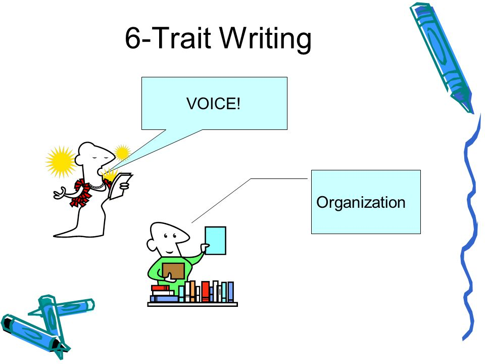 6-Trait Writing VOICE! Organization